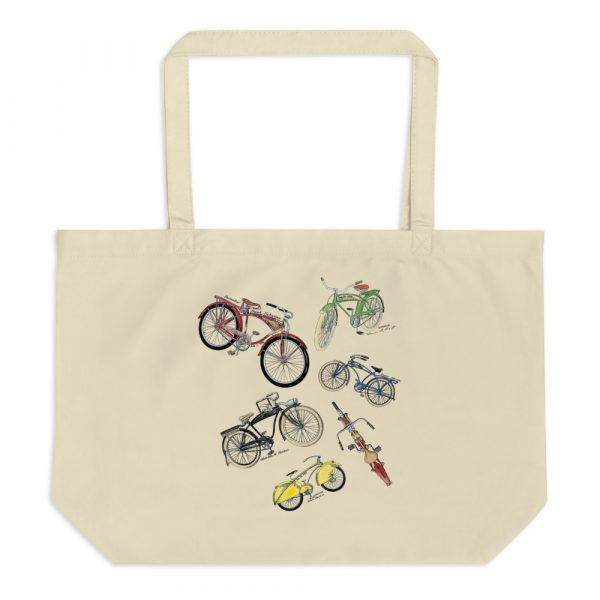 Bicycles MS-Color Tote Large Oyster