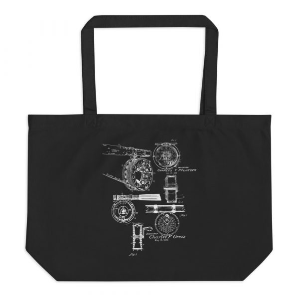 Fly Reels MS|Lineart Tote Large Black