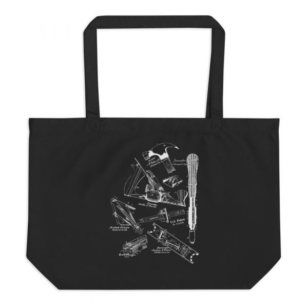 Tools MS|Lineart Tote Large Black