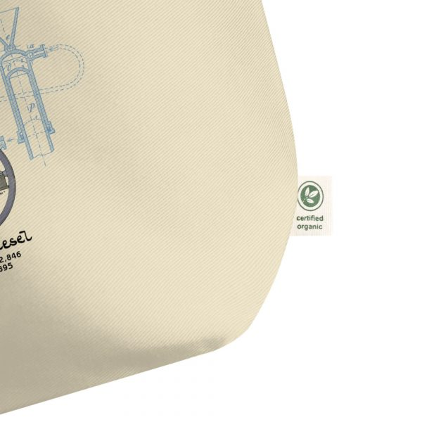 Diesel Engine Patent Tote Large Oyster details