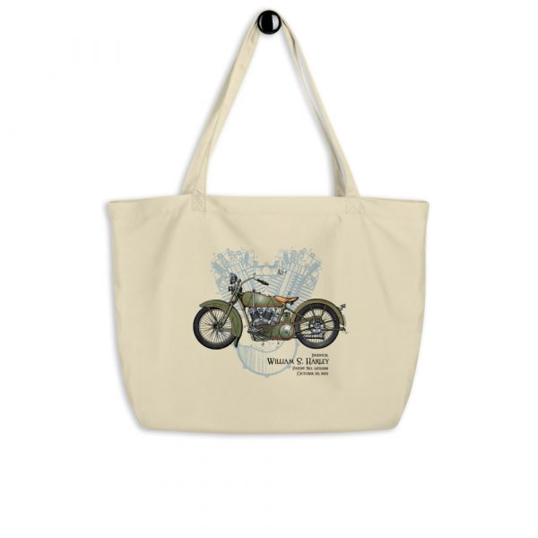 William S. Harley Patents Tote Large Oyster hanging