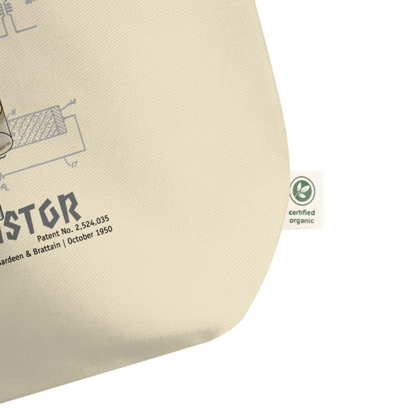 Transistor Patent Tote Large Oyster details