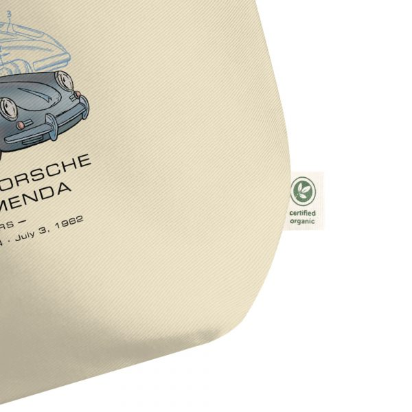 Porsche 356 Patent Tote Large Oyster detail