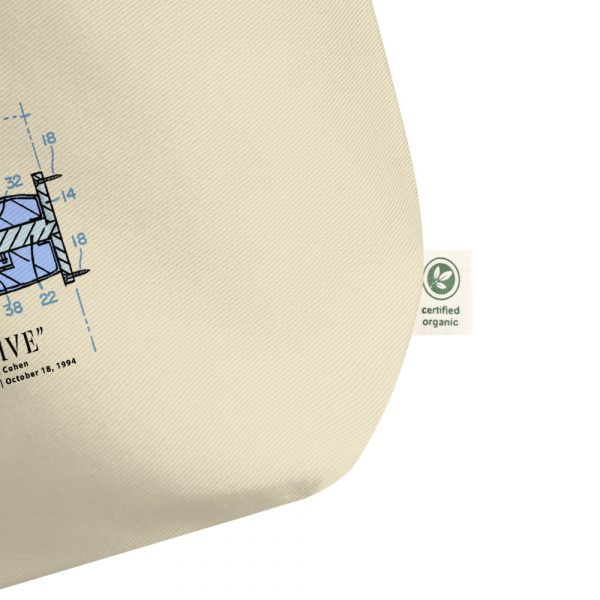 High Five Patent Tote Large Oyster detail