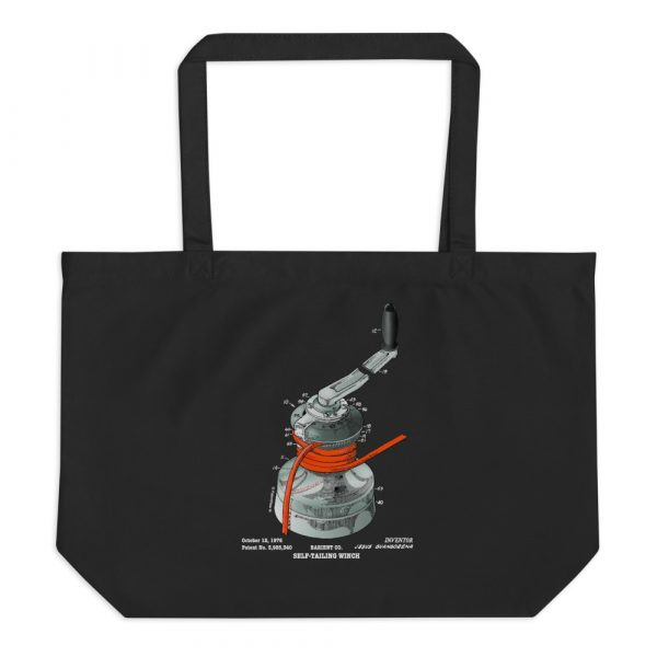 Winch Patent Tote Large Black