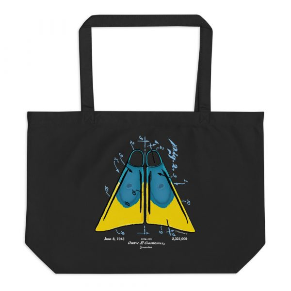 Churchill Fins Patent Tote Large Black