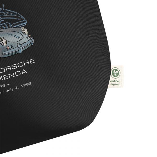Porsche 356 Patent Tote Large Black detail