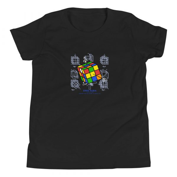 Magic Cube Youth T-Shirt (8-12 yrs) Black