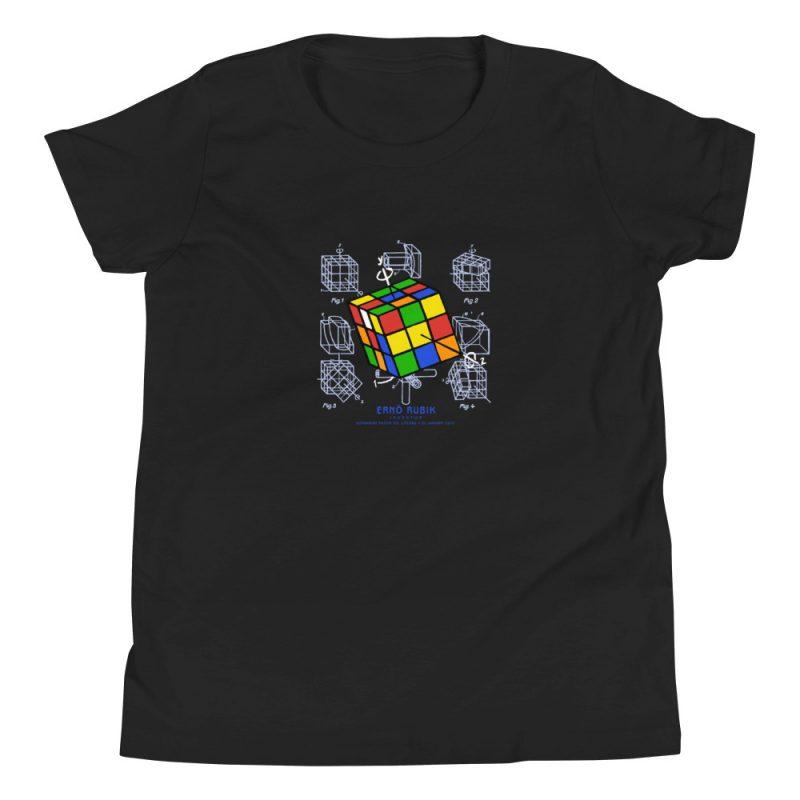 Magic Cube Youth T-Shirt (8-12 yrs) Black