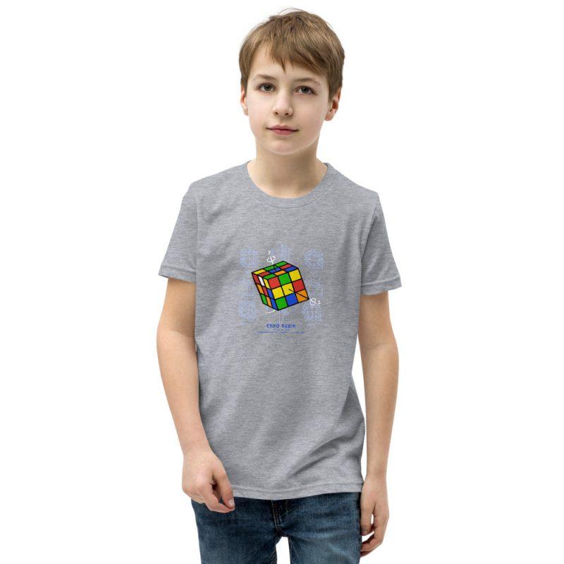 Magic Cube Youth T-Shirt (8-12 yrs) Athletic Heather
