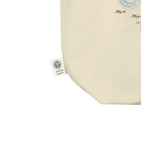 Ice Cream Cone Patent Tote Bag detail