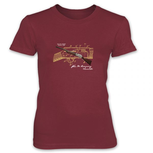 Browning Auto-5 Women's T-Shirt INDEPENDENCE RED