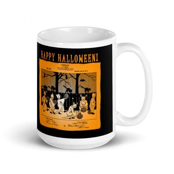 Halloween Patent Mug 15oz.